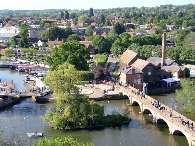 Stratford-upon-Avon - View from the Ferris Wheel