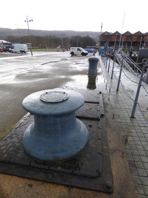 Capstan winch at James Watt Dock