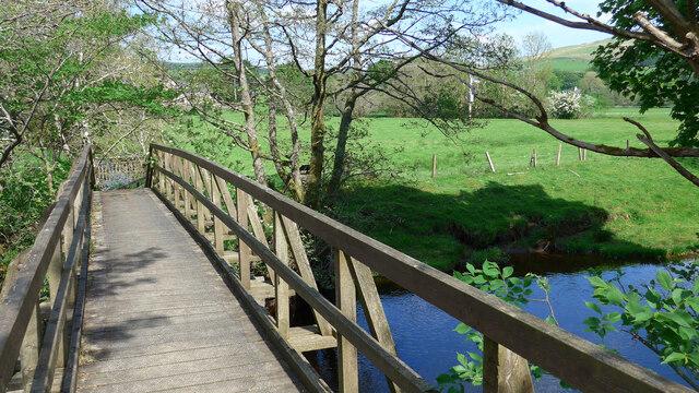 Footbridge over the Water of Girvan