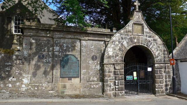 War memorial, Kirkmichael