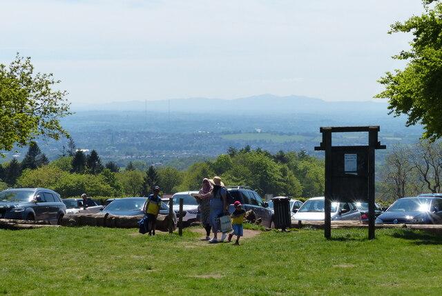 Car park at Beacon Hill