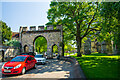 SK9771 : The Priory Gate, Lincoln by Oliver Mills