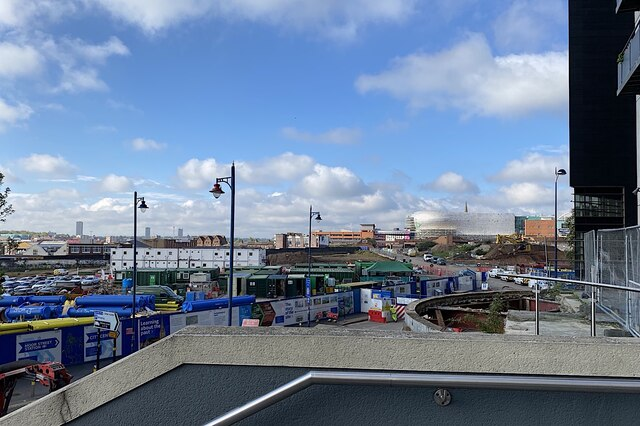 HS2 Curzon Street station site, Birmingham, May 2021 (1/4)