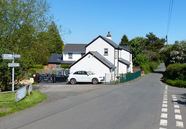 Brockhill Lane near Broad Green
