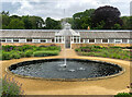 SE8675 : Conservatory and fountain, Scampston Hall by Paul Harrop
