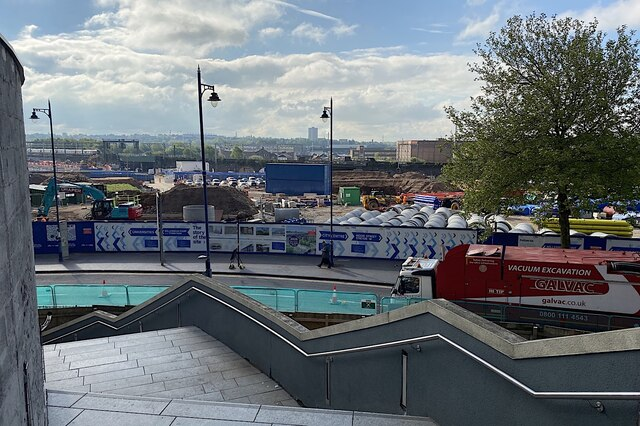 HS2 Curzon Street station site, Birmingham, May 2021 (4/4)