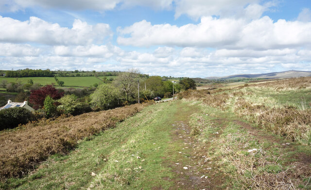 West Devon Way at West Blackdown
