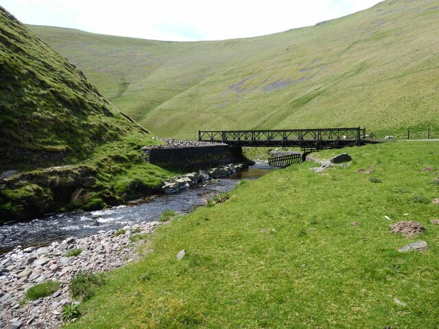Another of the Bailey Bridges over the Usway Burn