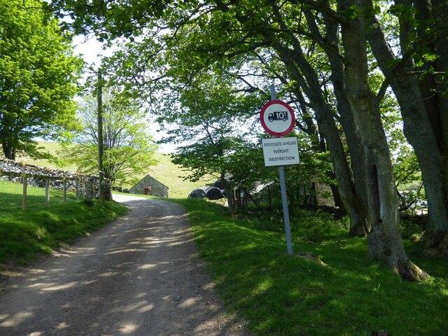 Bridges Ahead Weight Restriction