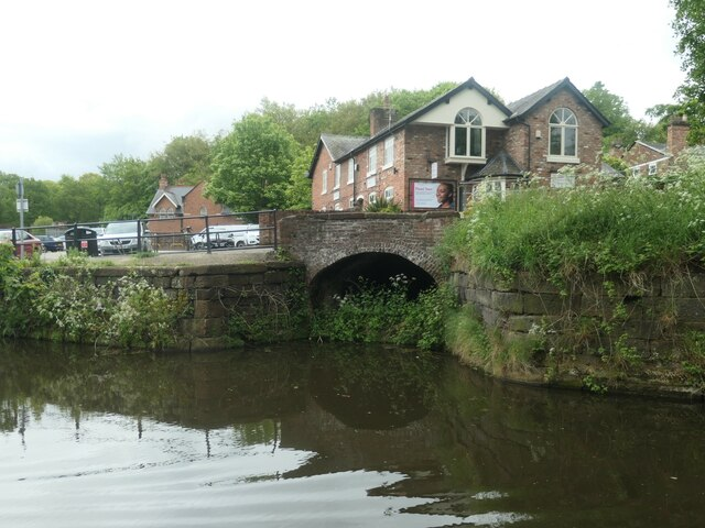 A former arm on the Bridgewater Canal at Lymm?