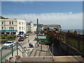 SX9676 : Dawlish - railway and town centre by Chris Allen