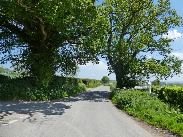 Turning for East Pennard
