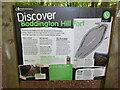 SP8808 : Information Board at Boddington Hill Fort by David Hillas