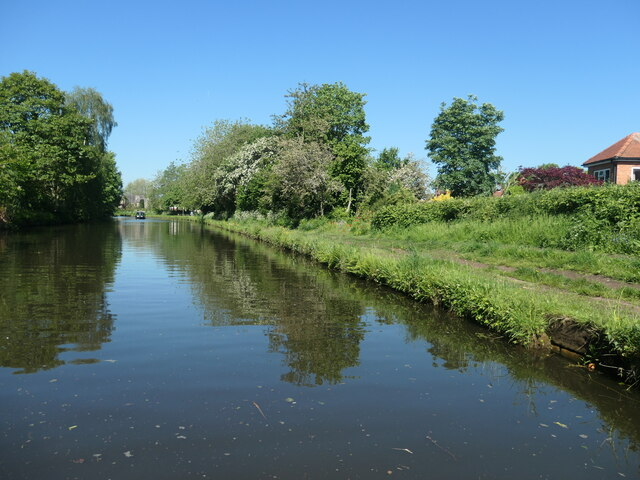 The Bridgewater Canal at Grappenhall
