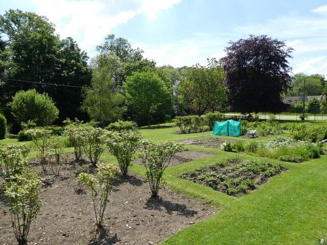 Vicarage garden, East Pennard