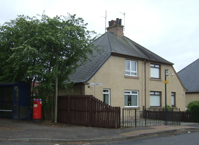 Houses on Campbell Place, Dreghorn