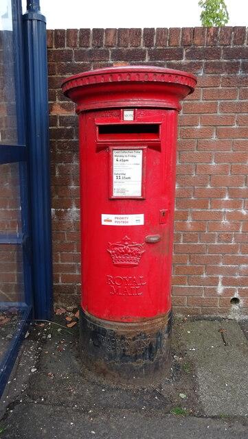 Elizabethan postbox, Townend, Kilmaurs
