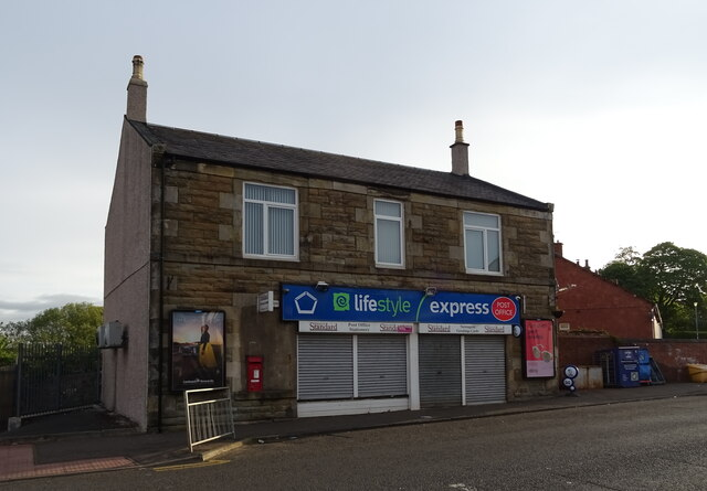 Post Office and shop on Kilmarnock Road, Crosshouse