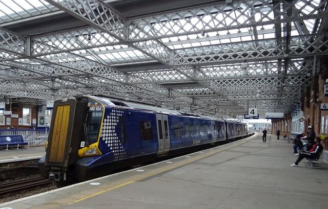 Platform 4, Paisley Gilmour Street Railway Station