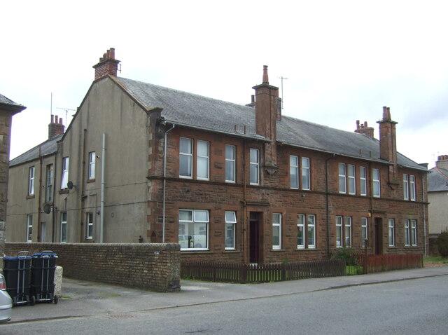 Houses on Irvine Road, Crosshouse