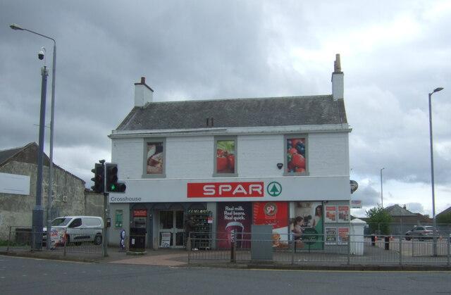 Spar shop, Crosshouse