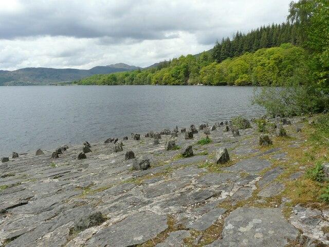 Shore, Loch Katrine