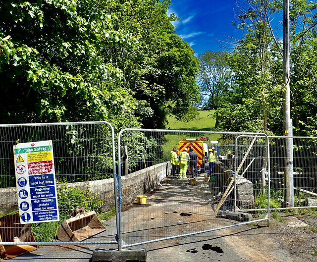 Renovating Priest's Bridge on Tullybrannigan Road