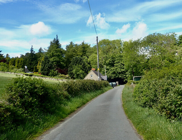 Road linking Tullybrannigan Road with Tollymore Forest Park
