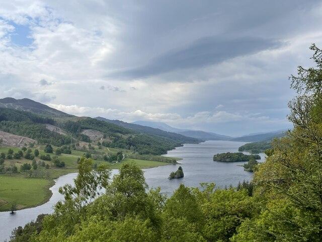 Loch Tummel from Queen's View