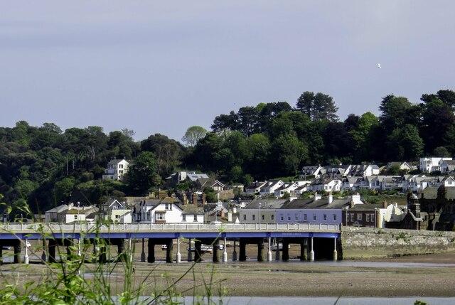 The Teignmouth and Shaldon Bridge