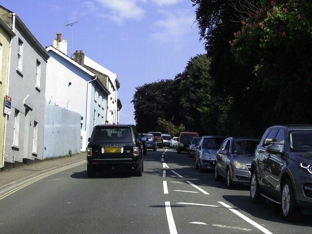 Bitton Park Road in Teignmouth