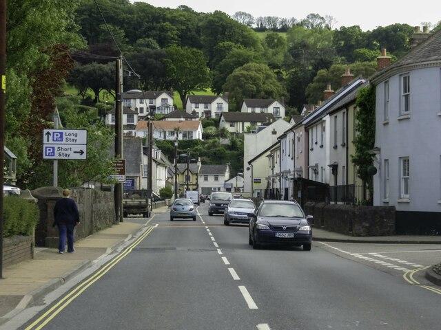 Bridge Road in Shaldon