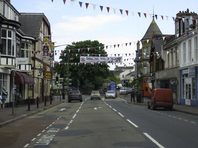 Fore Street in Babbacombe