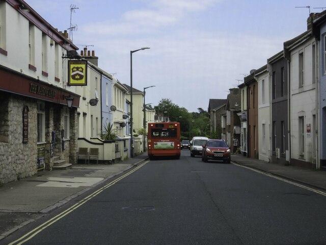 Babbacombe Road in Babbacombe