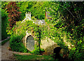 SX8568 : Wall arches, Abbotskerswell by Derek Harper