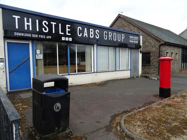 Taxi office on Bonnyton Road, Kilmarnock