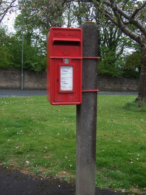 Elizabethan postbox on Townend Road, Kilmarnock