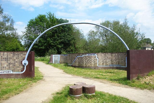 Millennium Wall, Chippenham