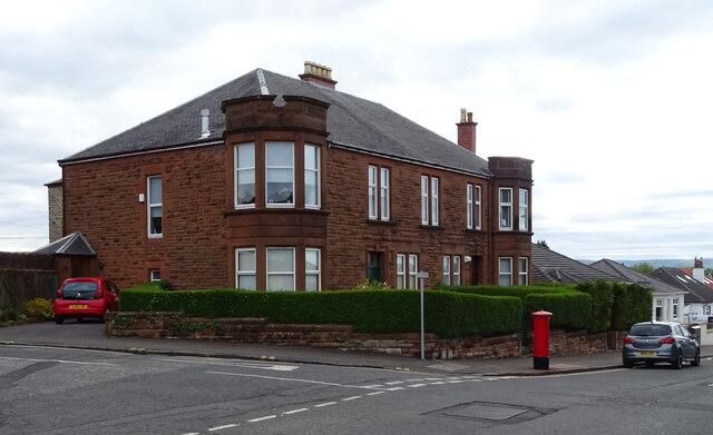 Houses on Irvine Road, Kilmarnock