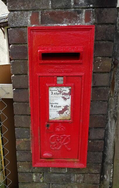 George VI postbox on Afton Bridgend, New Cumnock