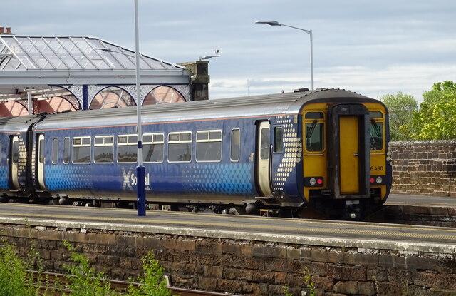 Kilmarnock Railway Station