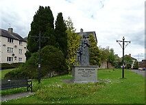 NX9775 : Jean Armour statue, Dumfries by JThomas