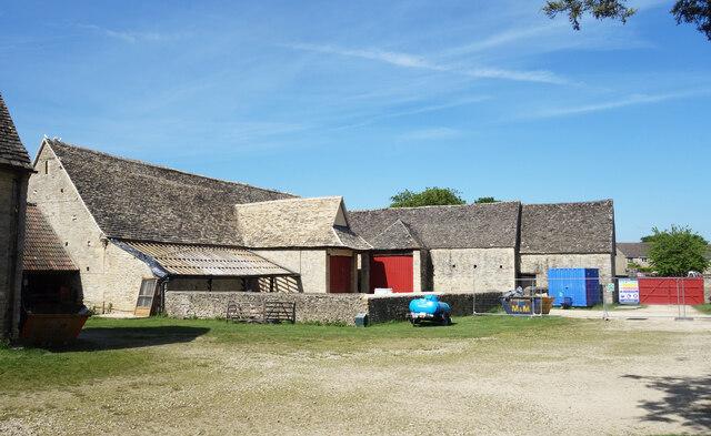 Barns at Cogges Manor