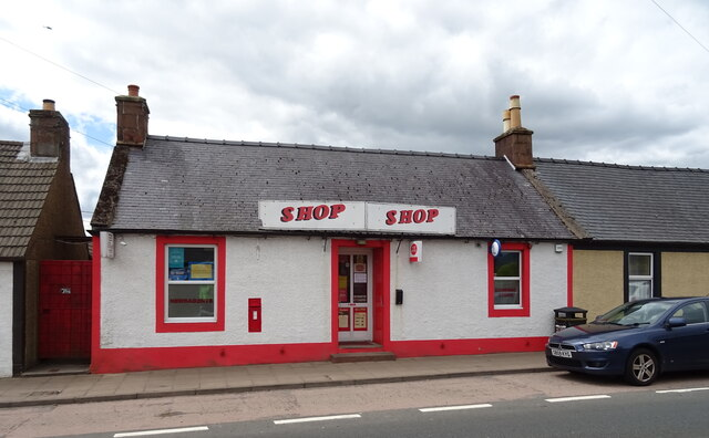 Post Office and shop on the A76, Closeburn