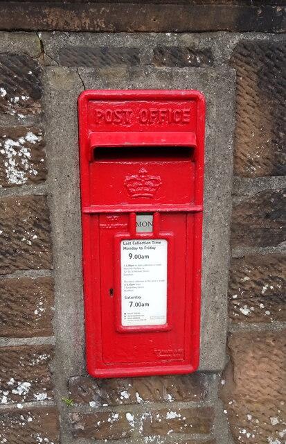Elizabethan postbox on Brooms Road, Dumfries
