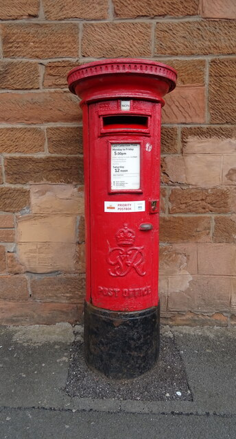 George VI postbox on Whitesands, Dumfries