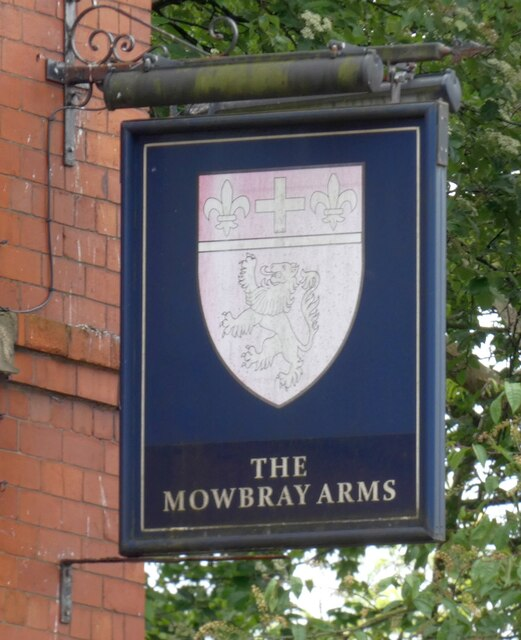 Sign of The Mowbray Arms