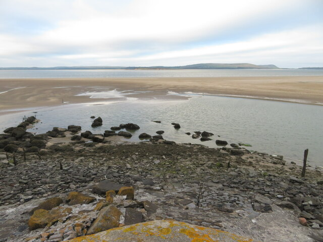 View from the end of Pembrey Harbour pier