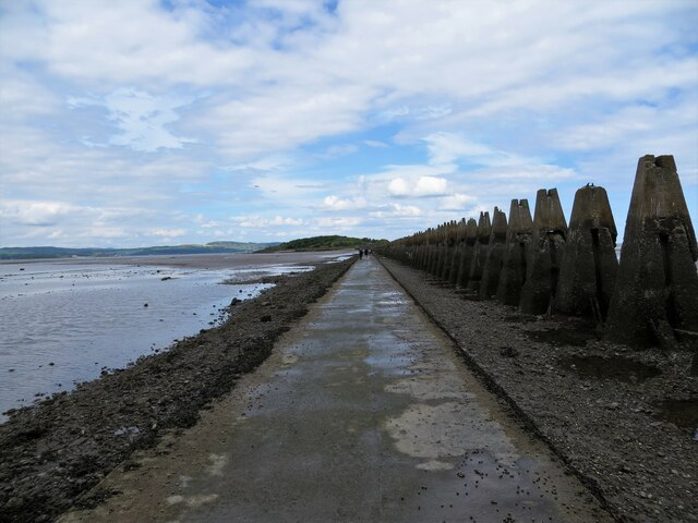 Causeway to Cramond Island