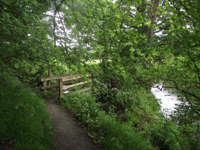 Derwent Valley Heritage Way crosses Dunge Brook